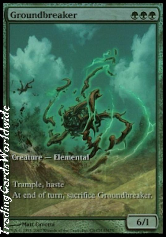 Groundbreaker   Foil      NM    Champs & States Promos    engl.    Magic Gathering f802c8