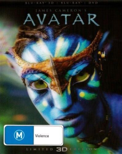 1 of 1 - Avatar | 3D Blu-ray + Blu-ray + DVD - Blu Ray Region 4,B Free Shipping!