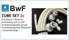 BWF Tube Set Nr.1c 7m Wasserzulaufleitung Uni Anschluss-Set Kühlschrank Filter