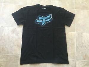 Mens-size-Medium-black-FOX-racing-Short-Sleeve-cotton-t-shirt