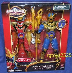 Power Rangers Mystic Force Red Ranger et Solaris Knight Ensemble de 12 mégapixels de nouvelle génération 45557918668 New Mega Talking Set 45557918668
