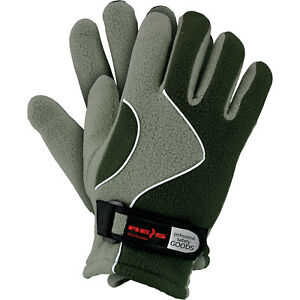 Winterhandschuhe Handschuhe Super Warm Fleecestoff Grün Hellgrün Gr. 8 Neu Top