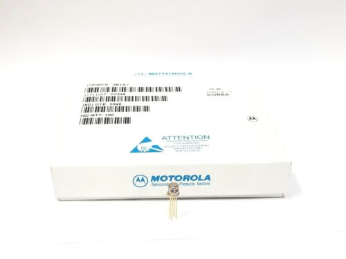 3N187 3n 187 Transistor N-Channel Mosfet Case TO72 New Original MOTOROLA