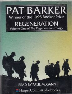 Regeneration-Pat-Barker-2-Cassette-Audio-Book-1-Trilogy-Paul-McGann-FASTPOST