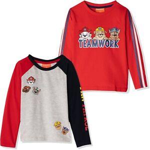 Boys PAW PATROL Character Short Sleeves T.Shirt /& Short Outfits Sets 2 3 4 5 6Y
