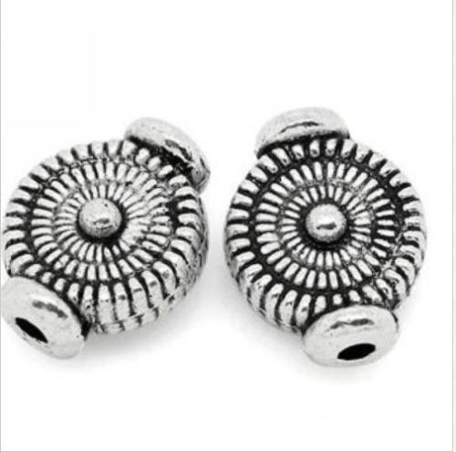 Free Ship 300Pcs Tibetan Silver Spacer Beads For Jewelry Making 4x10mm