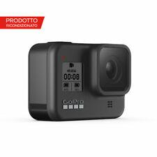 Videocamera GoPro HERO8 Black con Stabilizzazione Hypersmooth 2.0 ricondizionata