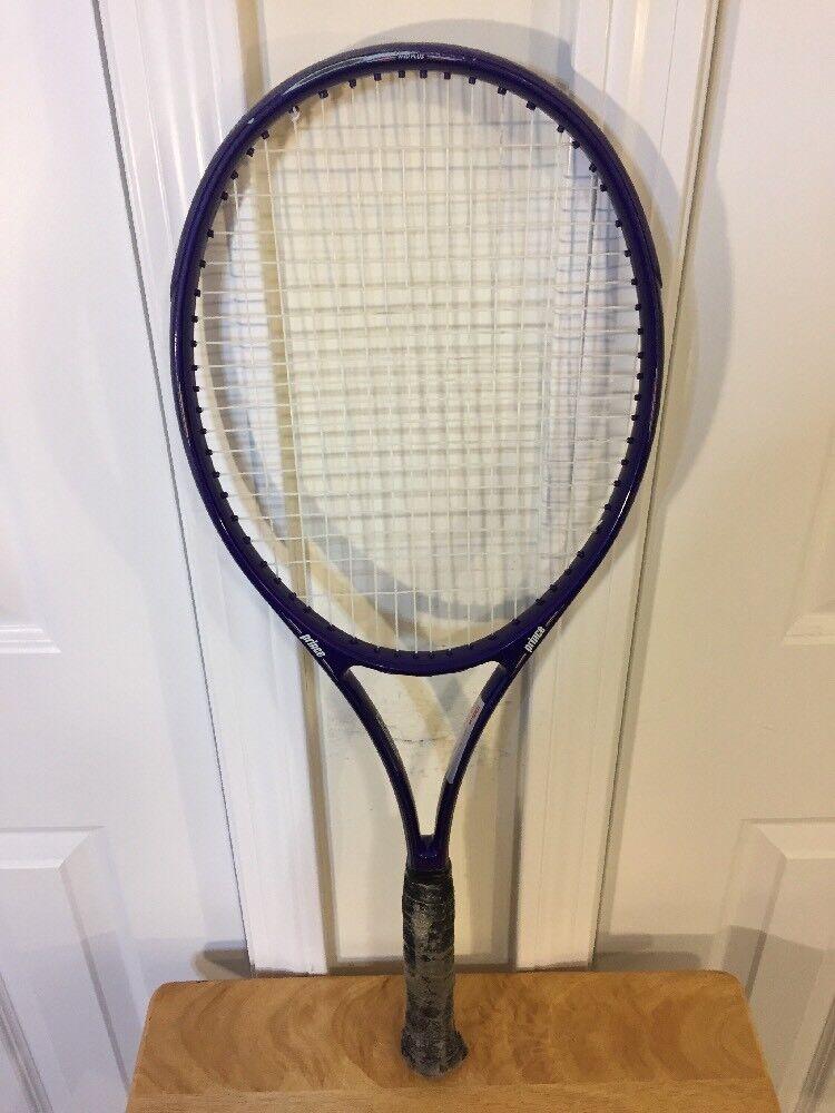 El príncipe Power Pro Mediados Plus Raqueta De Tenis Grip 4 1 2  grafito de 27 pulgadas de largo bonito