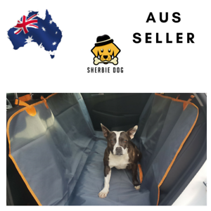 Details about Car Seat Cover for dogs- Waterproof- Kelpie, border collie,  Labrador, Staffy,