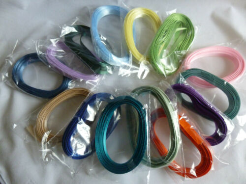 Bomboniere//Favours//Cakes//Sewing//Cards 6 mm /& 7 mm Double Satin Ribbon x 5metre