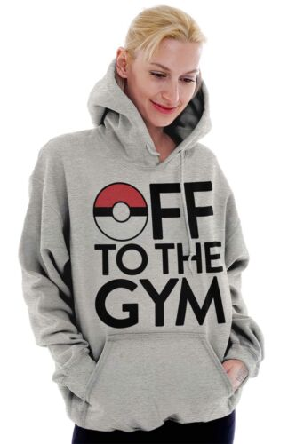 Off To The Gym Go Gamer Funny Nerd Geek Gift Hoodies Sweat Shirts Sweatshirts