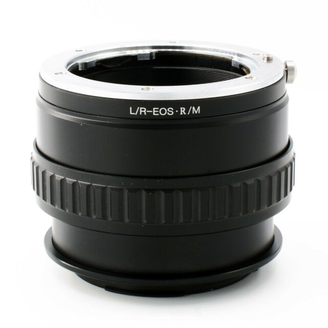 LR-EOSR/M Macro Focusing Adapter For Leica R Lens to Canon EOS R RF mount Camera