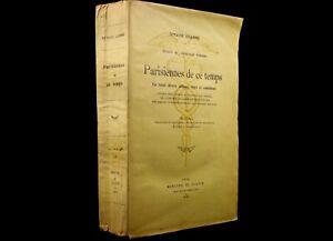 Octave-UZANNE-Parisiennes-de-ce-temps-envoi-autographe-signe-sociologie-1910