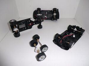 Carrera-Ersatzteile-Chassis-Achsen-Reifen-DTM-GT3-RS5-A5-R8-M4-Z4-AMG-NEU