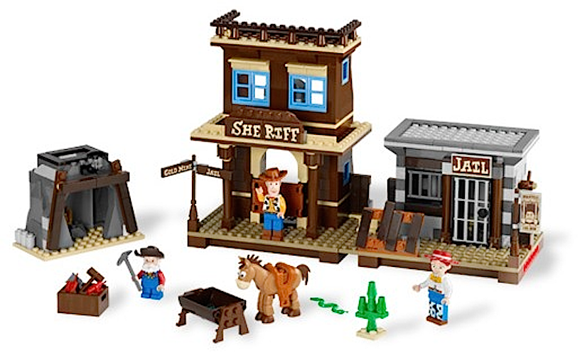 100% LEGO TOY TOY TOY STORY WOODY'S ROUND-UP 7594 NISB NEW cceffd