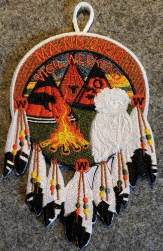OA 2020 Vigil Dinner Ceremony and Reunion Patch Lodge 133 Ma-Nu Host BSA