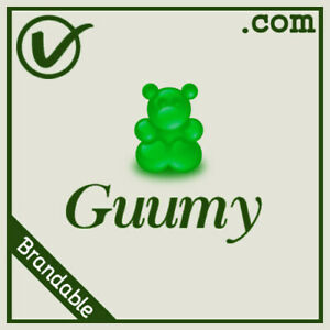 Guumy-com-Brandable-And-Pronounceable-LLLLL-COM-Domain-Name-5-Letter-5L
