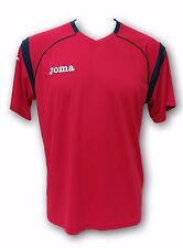 Joma Red Color Men's Short Sleeve Jersey Size Medium