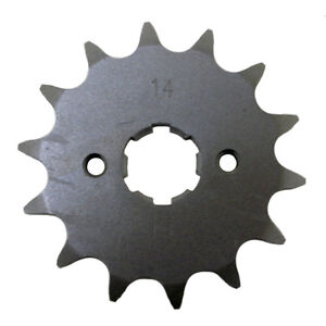 14 tooth front steel sprocket honda trx300ex 14t 1999 2000 2001 2002 2003 2004 ebay