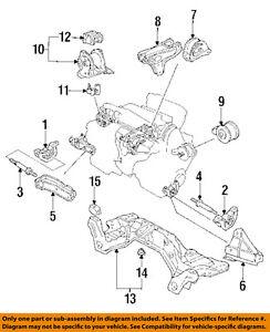 honda oem 92 93 civic engine motor mount torque strut 50821sr3020 ebay 93 Civic Steering Wheel image is loading honda oem 92 93 civic engine motor mount
