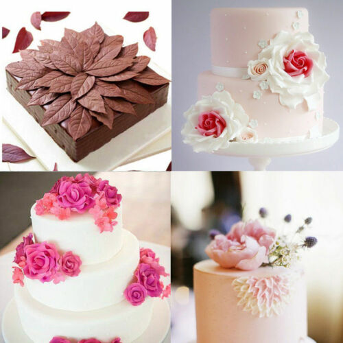 Flower Petal Leaf Silicone Fondant Molds Cake Decoration Sugarcraft Baking Mould