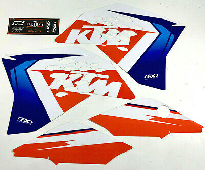 Factory Effex EVO 17 Graphics Shrouds Air Box KTM SX SXF 125-450 2013 2014 2015