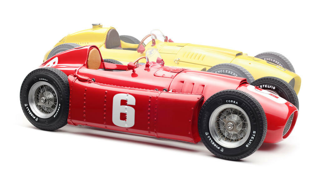 CMC M-184 Ferrari D50 BUNDLE of 2 Cars  20 in jaune &  6 in rouge Model Car