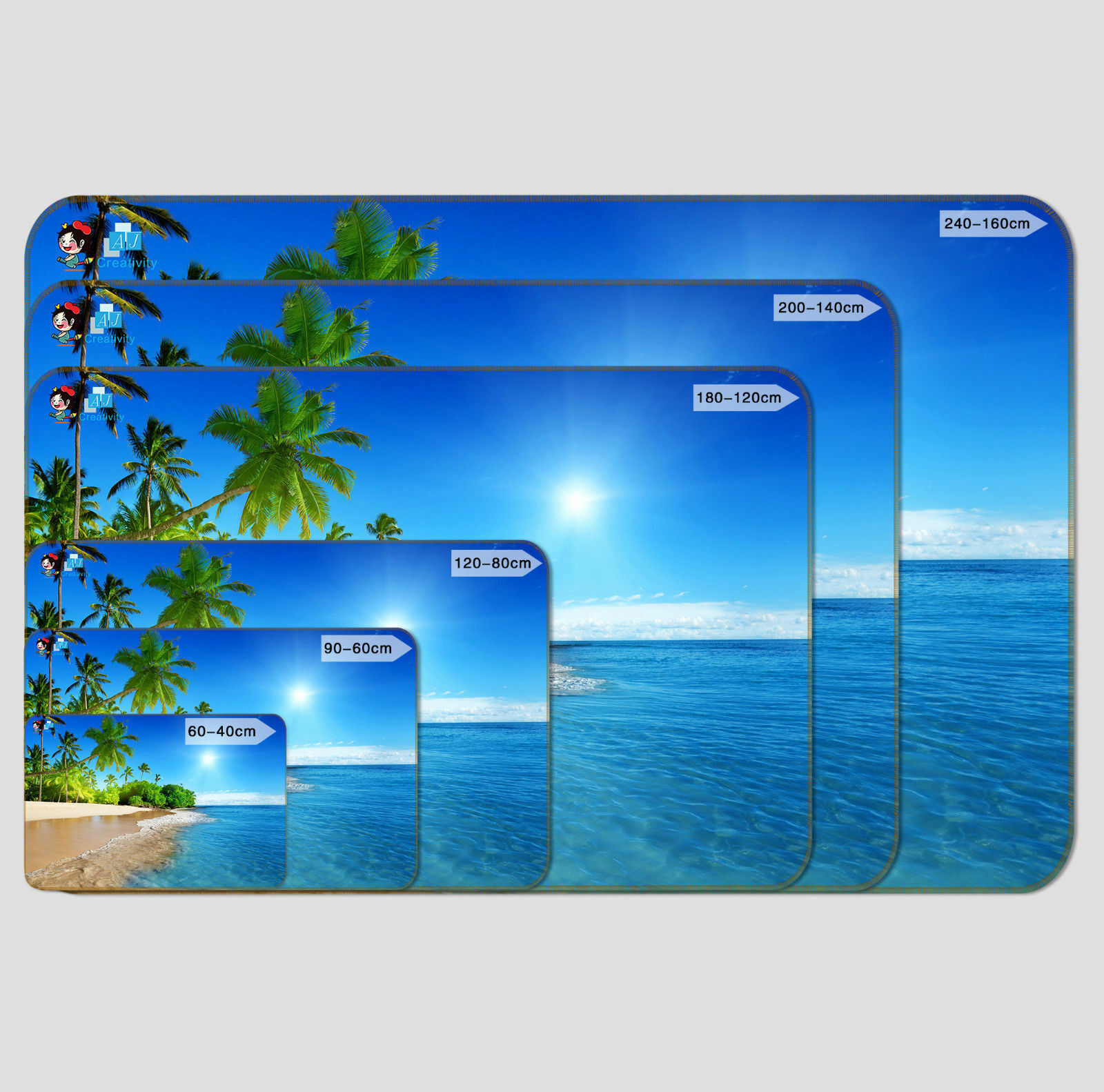 3D Nostalgia Trees 56 56 56  Non Slip Rug Mat Room Mat Quality Elegant Photo Carpet AU 00072c