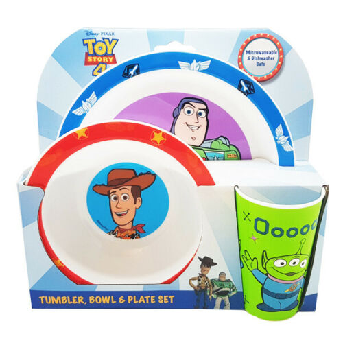 Toy Story Piece Plate Bowl And Cup Dinner Tableware set