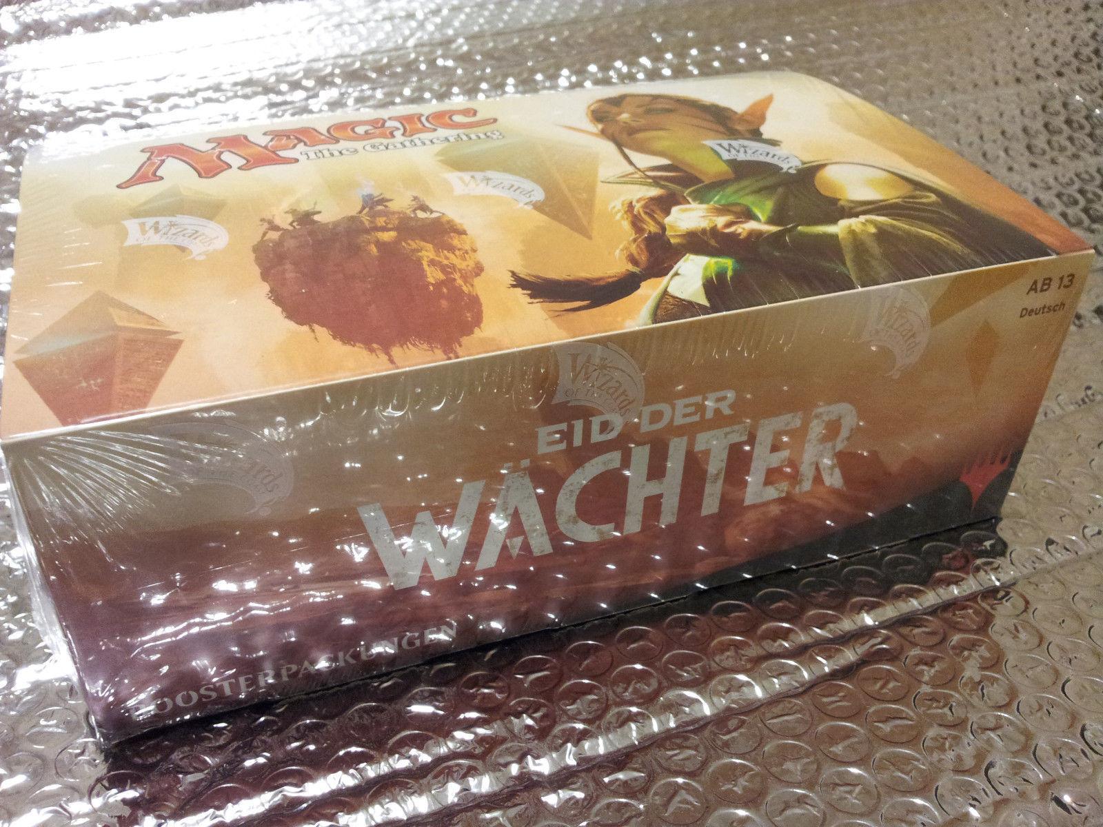 GERMAN Magic MTG Oath of the Gatewatch Gatewatch Gatewatch OGW Factory Sealed Booster Box Gathering d33230
