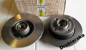 rear brake discs renault clio iii megane ii modus genuine renault 7701207823 ebay. Black Bedroom Furniture Sets. Home Design Ideas