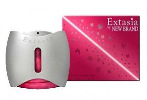 EXTASIA-argento-da-donna-profumo-NEW-BRAND-PERFUMES-EAU-DE-PARFUM-SPRAY-100ml