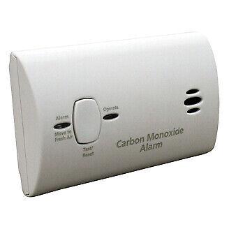 Kidde Carbon Monoxide Detector Alarm Battery Operated Model #KN-COB-LP2 9CO5-LP2