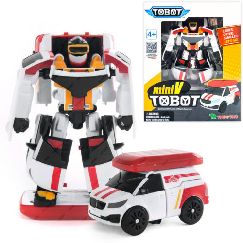 Young Toys TOBOT Mini V Transformers NEW /& Sealed Original