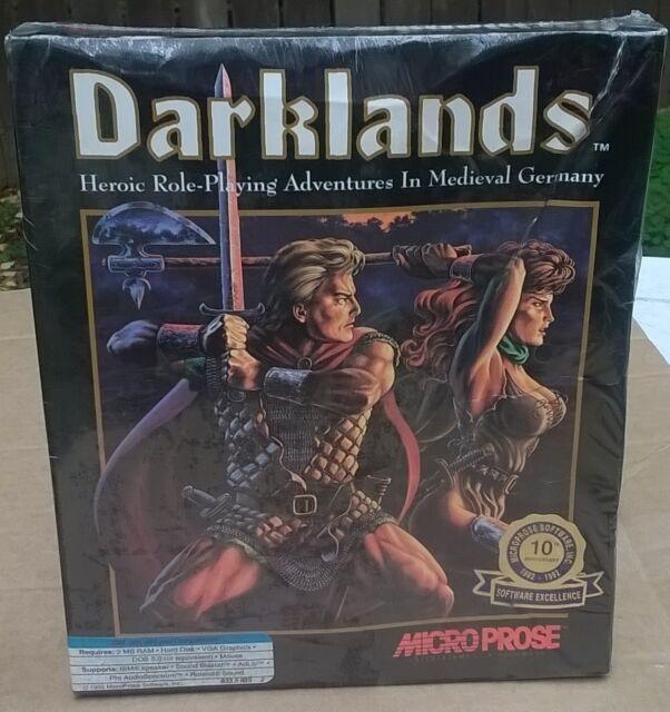 Darklands RPG Medieval Germany New Factory Sealed 3.5 HD IBM & Compatibles