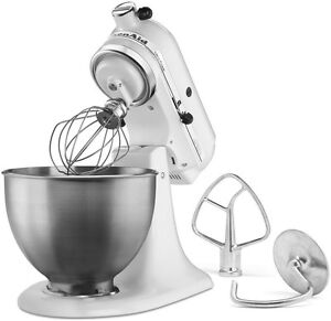 Details about New Made USA KitchenAid Ultra Power KSM95wh 10-speed Stand  Mixer 4.5-quart White