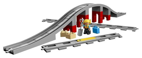 LEGO DUPLO 10872 pont de chemin de fer et rails train Bridge and Tracks