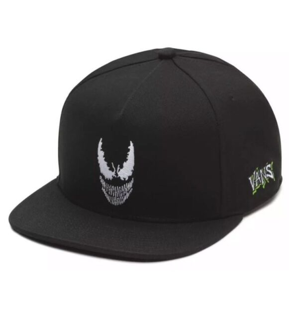 5c7b3f6721b Vans Off The Wall X Marvel Snapback Hat Black Venom One Size Fits All Unisex