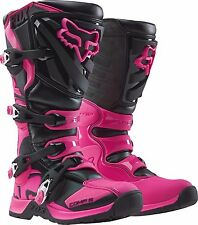 Fox Racing Ladies Womens Pink Comp 5 Dirt Bike Boots Motocross MX 2016 SIZE 8