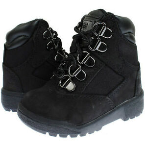 toddler boy black timberland boots