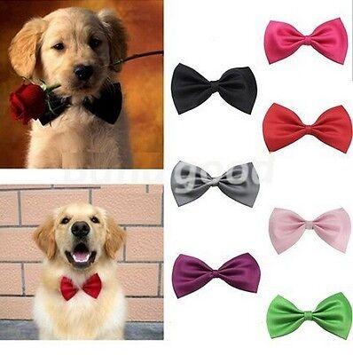 FD1009 Fashion Cute Dog Pet Puppy Toy Kid Bow Tie Necktie Collar Clothes ~2PCs~
