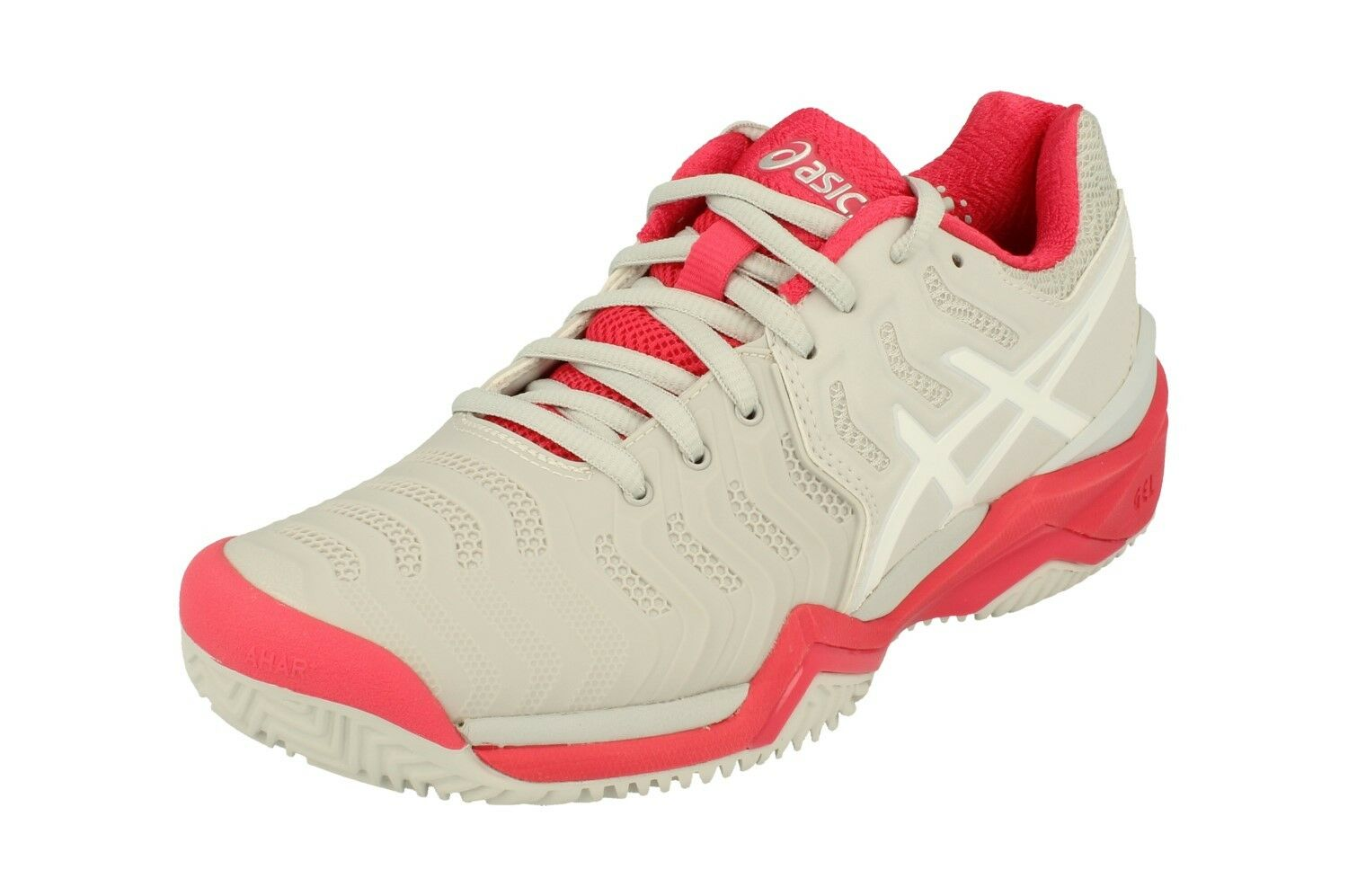 Asics Gel-Resolution 7 Clay Womens Tennis shoes E752Y Sneakers Trainers 9601