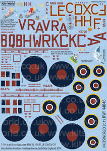 Kits-World-decals-1-144-Avro-Lancaster-B-MkI-MkVII-MkX-2014-144046