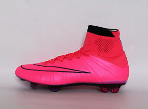Nike Mercurial Superfly FG 641858 660 Hyper Pink Soccer Cleats