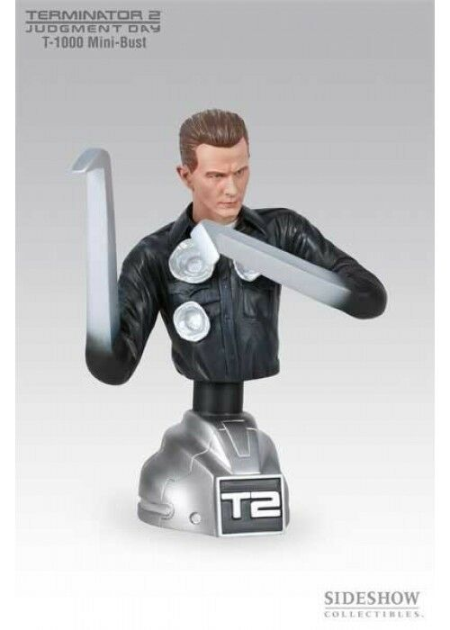 HOT Sideshow TERMINATOR 2 Judgment Day  T-1000 bust Statue figure T-800 toys