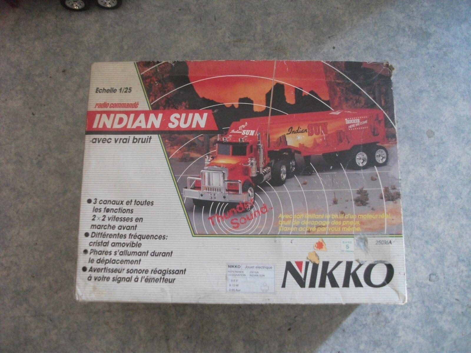 Camion Nikko Indian sun  ultra ( rare )  protezione post-vendita