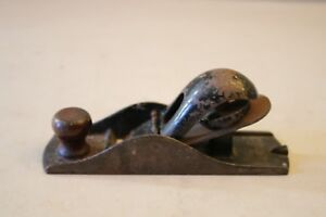 Vintage Small Wood Plane Woodworking Tool Made In Usa Ebay
