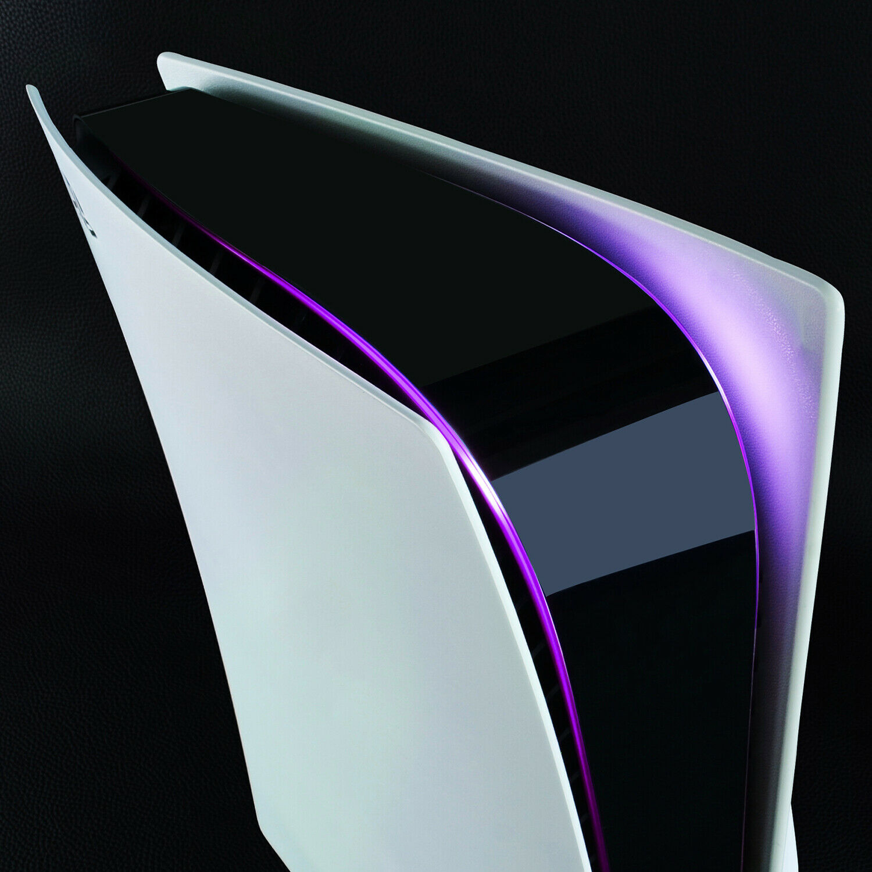 Power Light Decal Skin Sticker for PS5 UHD & Digital Edition - Purple