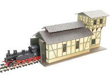 Modellbahn Union N-B00028 - Lokschuppen mit Wasserturm - Spur N - NEU