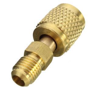 R410a-5-16-034-to-1-4-034-SAE-para-Gauge-amp-Vacuum-Pump-Adaptador-Aire-Acondicionado